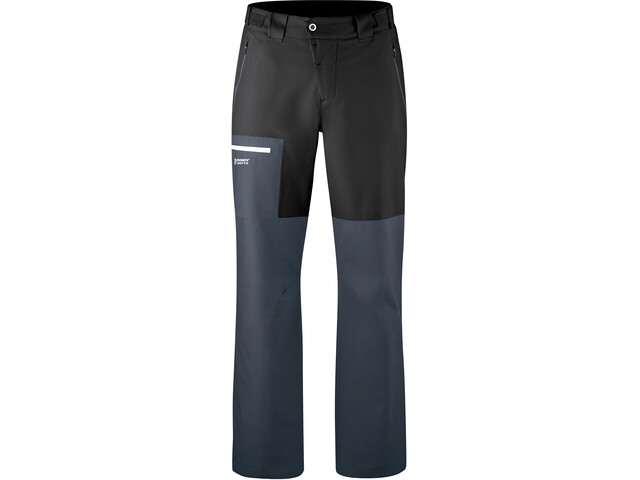 Maier Sports Diabas Pantaloni Uomo, black/ombre blue